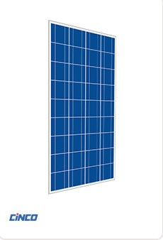 Cinco 160W Poly Solar Panel