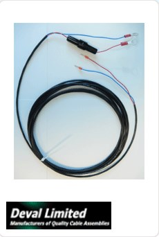 DC Power Cable 5m for CCGX
