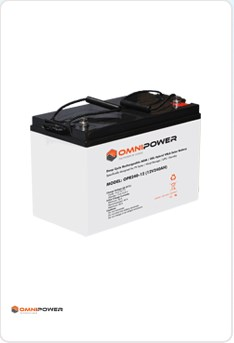 OmniPower 120Ah 12V Sealed Battery